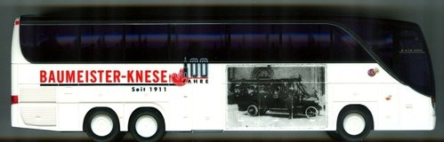 "AWM Setra S 416 HDH ""BAUMEISTER-KNESE"" 100 JAHRE"