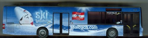 "Rietze MAN Lion's City ""ÖBB Postbus Saalbach.com - Ski unlimited-"