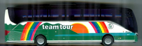 "AWM Setra S 515 HD ""Team Tour AS, Drammen (NO)"