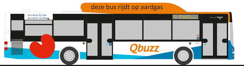 "Rietze MAN Lion's City CNG ""Qbuzz Friesland"" (NL)"